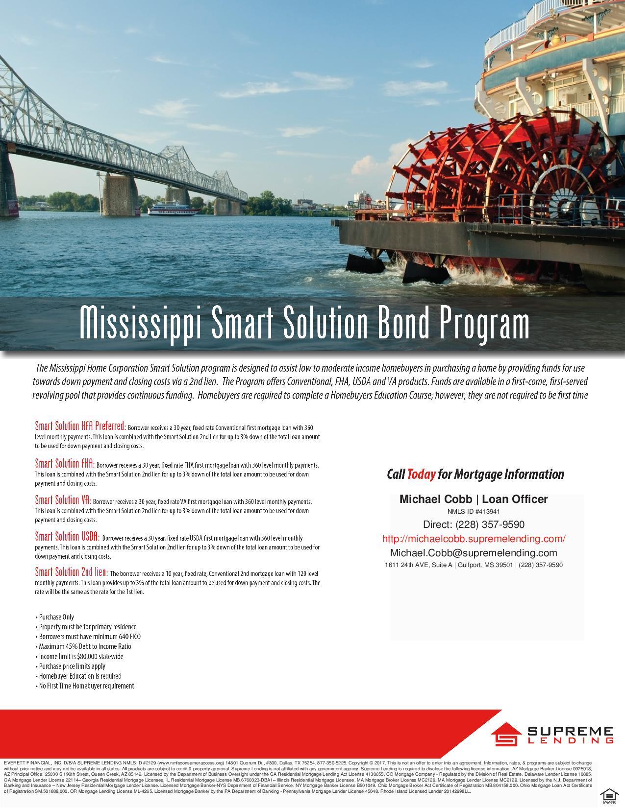 Supreme Lending Michael Cobb MS Smart Solution Flyer-page