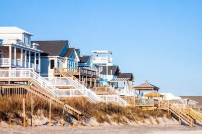 Waterfront homes in North Carolina